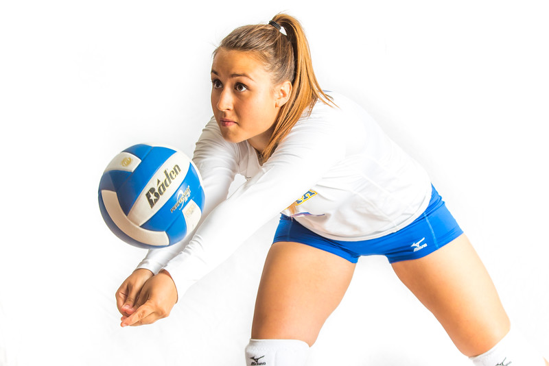 """Samantha Hesterman, a defensive specialist from Ormiston, Saskatchawan, finished her Nanook career in 2015.  <div class=""""ss-paypal-button"""">Filename: ATH-15-4615-041.jpg</div><div class=""""ss-paypal-button-end""""></div>"""