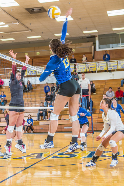 """Senior Keri Knight skies for another kill against Central Washington.  <div class=""""ss-paypal-button"""">Filename: ATH-13-3980-99.jpg</div><div class=""""ss-paypal-button-end"""" style=""""""""></div>"""