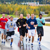 "Members of the Nanook basketball team get in a workout running up Tanana Loop on a recent rainy afternoon.  <div class=""ss-paypal-button"">Filename: ATH-12-3535-13.jpg</div><div class=""ss-paypal-button-end"" style=""""></div>"