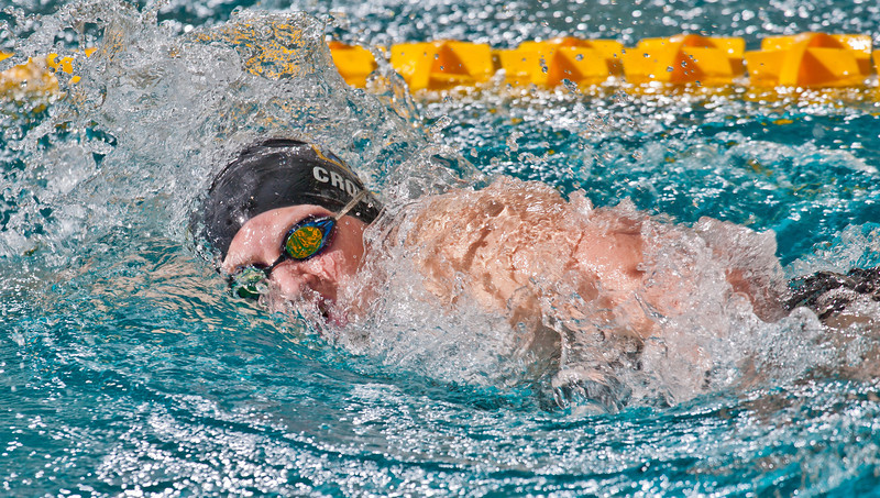 """Sophomore Ashley Crowe won the 500-yard freestyle event for the Nanooks during their dual meet against Colorado Mesa in the Patty pool.  <div class=""""ss-paypal-button"""">Filename: ATH-12-3267-134.jpg</div><div class=""""ss-paypal-button-end"""" style=""""""""></div>"""