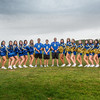 "UAF cheerleaders pose in front of the SRC on the Fairbanks campus.  <div class=""ss-paypal-button"">Filename: ATH-13-3943-17.jpg</div><div class=""ss-paypal-button-end"" style=""""></div>"