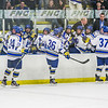 "Nanooks Cody Kunyk, 37, Colton Beck, 36, and Nolan Huysmans are congratulated after Kunyk scored the winning goal late in the final period of their game against Mercyhurst in the Patty Ice Arena.  <div class=""ss-paypal-button"">Filename: ATH-13-3982-202.jpg</div><div class=""ss-paypal-button-end"" style=""""></div>"
