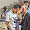 "Head coach Mick Durham gets his point across to point guard Joe Slocum during a timeout in the Nanooks' game against Northwest Nazarene in the Patty Gym.  <div class=""ss-paypal-button"">Filename: ATH-14-4041-173.jpg</div><div class=""ss-paypal-button-end"" style=""""></div>"