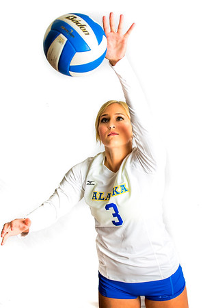 Jordan Ferland is a libero/defensive specialist from Beavercreek, Oregon.  Filename: ATH-15-4615-087.jpg