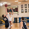 """Senior Alex Duncan puts up an off-balance shot from close distance during the Nanooks' 92-69 win over Concordia University Feb. 20 in the Patty Gym.  <div class=""""ss-paypal-button"""">Filename: ATH-16-4810-60.jpg</div><div class=""""ss-paypal-button-end""""></div>"""