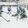 "Jarod Larson gets tripped up on his way to the goal early in the Nanooks' game against Mercyhurst in the Patty Ice Arena.  <div class=""ss-paypal-button"">Filename: ATH-13-3982-24.jpg</div><div class=""ss-paypal-button-end"" style=""""></div>"