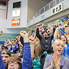 "Fans in the student section of the Carlson Center react to a goal by the Nanooks during their battle against the UAA Seawolves for the coveted Governor's Cup trophy.  <div class=""ss-paypal-button"">Filename: ATH-12-3304-122.jpg</div><div class=""ss-paypal-button-end"" style=""""></div>"