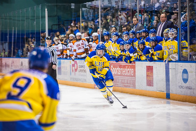 Alaska Nanooks battle Bowling Green State University hockey team at the Carlson Center.  Filename: ATH-16-4812-149.jpg