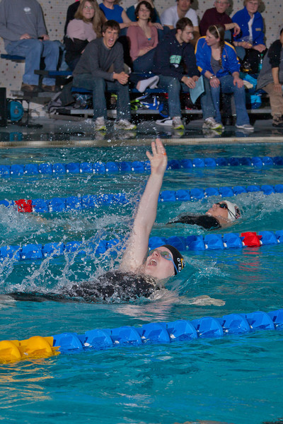 "Sophomore Meghan O'Leary took third in the 100-yard backstroke event for the Nanooks during their dual meet against Colorado Mesa in the Patty pool.  <div class=""ss-paypal-button"">Filename: ATH-12-3267-117.jpg</div><div class=""ss-paypal-button-end"" style=""""></div>"