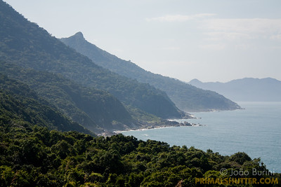 Coastline in Ilhabela
