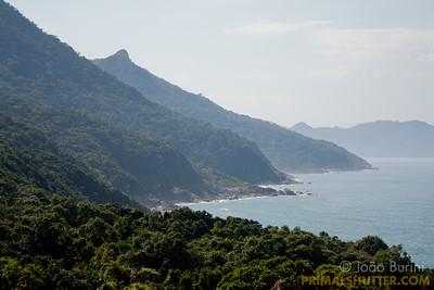 Coastline in Ilhabela