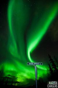 Aurora Borealis Lane