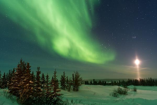 Aurora Borealis over Deline.