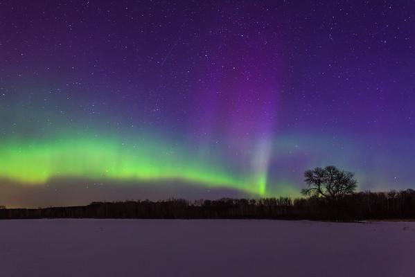 St. Patricks Day Aurora Borealis