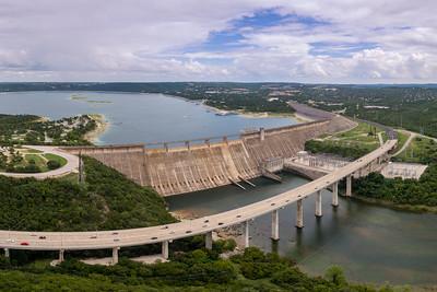 Lake Travis and Mansfield Dam