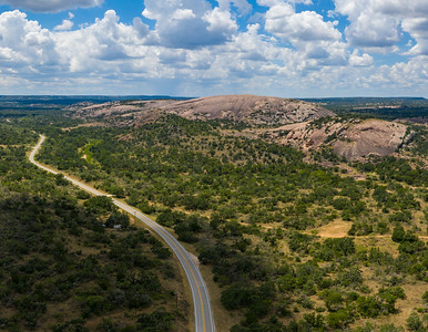 The Road to Enchanted Rock