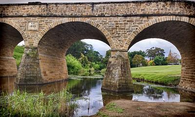 Oldest bridge in Tasmania