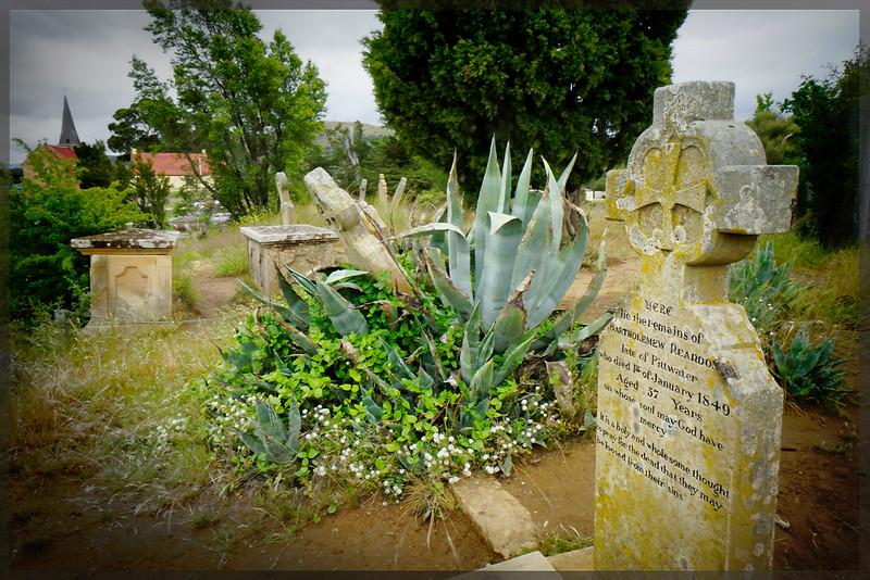 St John's church graveyard, Richmond Tasmania