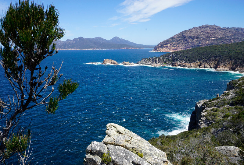 View from Cape Tourville Lighthouse, Freycinet National Park, Tasmania