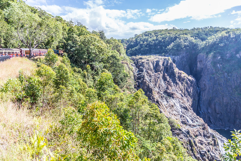 Barron Falls from the Kuranda Scenic Railway. Amazing views!
