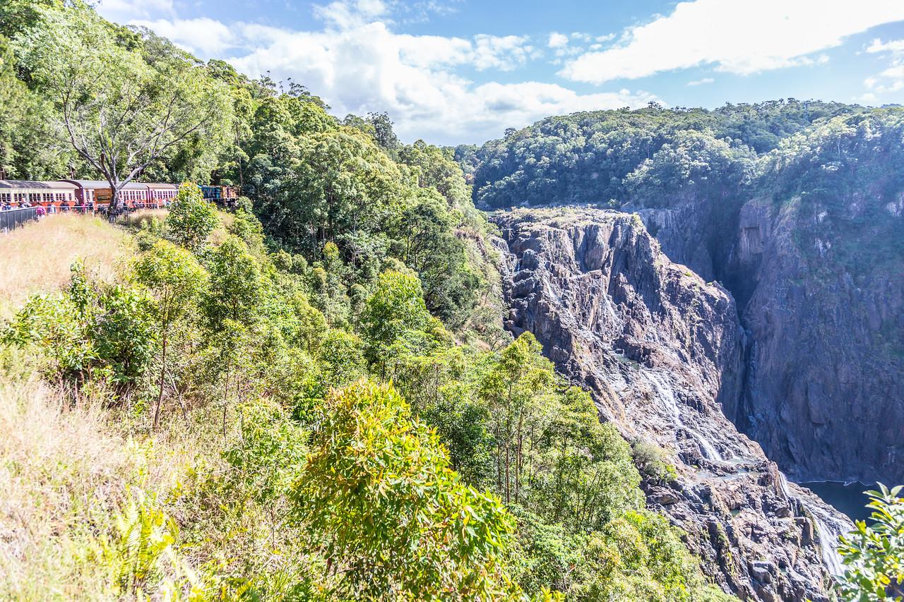 Barron Falls from the Kuranda Scenic Railway. Amazing views!