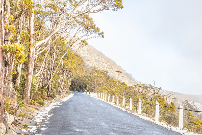 Freezing with very high winds at Mount Wellington