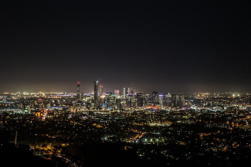 Good night Brisbane!