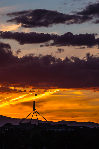 Another fine Canberra evening!
