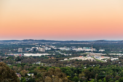 Canberra just after sunset. I was 5 minutes late for the photo that I wanted to take... Maybe next time!