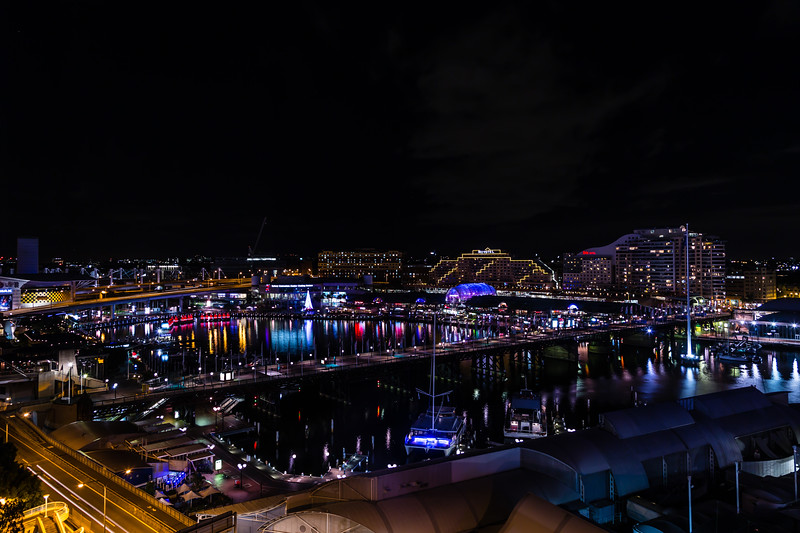 Good night, Darling Harbour!