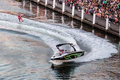 This is how Santa rolls in the land down under! #santafest