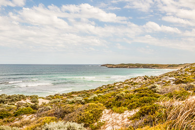 The furthest west I've ever been, 18km off the western coast of mainland Australia near Perth.