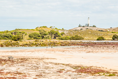 There were a few lakes in the middle of Rottnest Island. The smell and dryish lake terrain reminded me of some of the thermal areas of Yellowstone, only without the thermal activity...