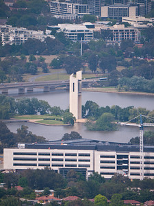 The National Carillon from atop Mt. Ainslie