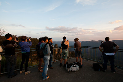 Photographers at Echo Point