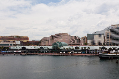 Harbourside on the west side of Darling Harbour