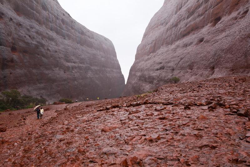 Kata Tjuta's Walpa Gorge Walk