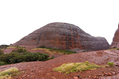 Wet Kata Tjuta from closer up