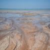 Broome town beach à marée basse
