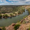 Murchison river,  parc national Kalbarri