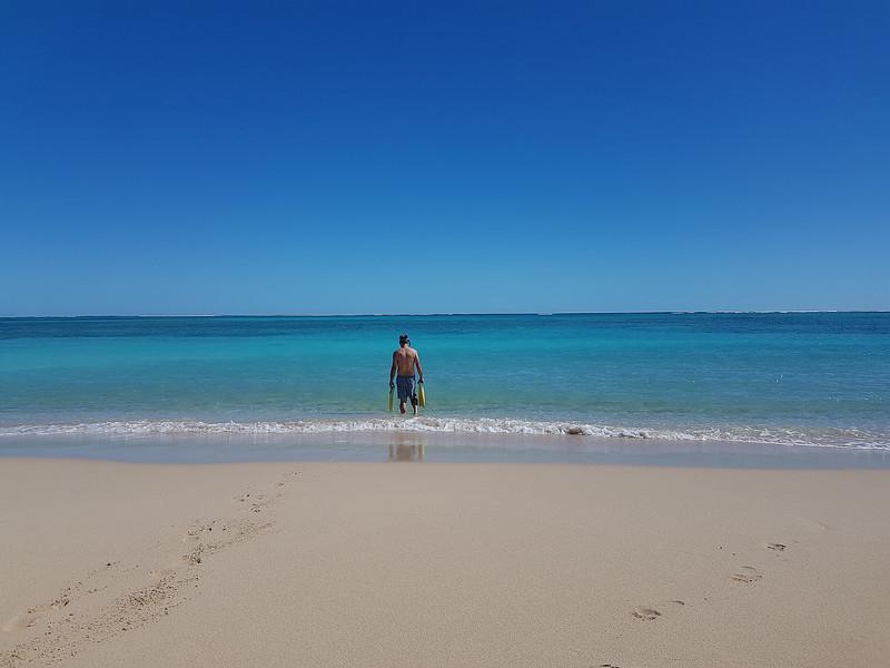 Snorkeling sur les plages du Ningaloo NP