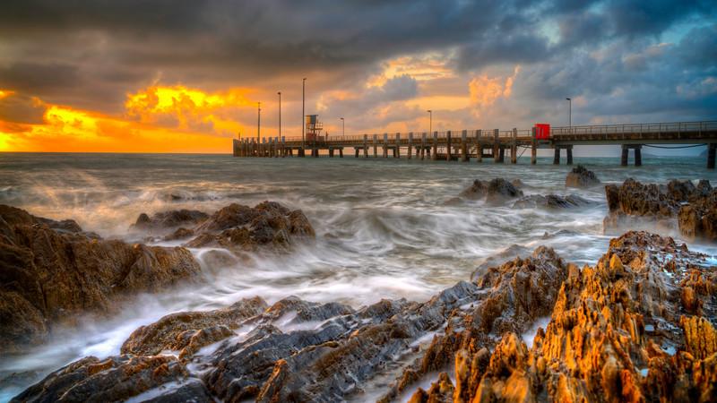 A Wild Sunrise at Palms Cove