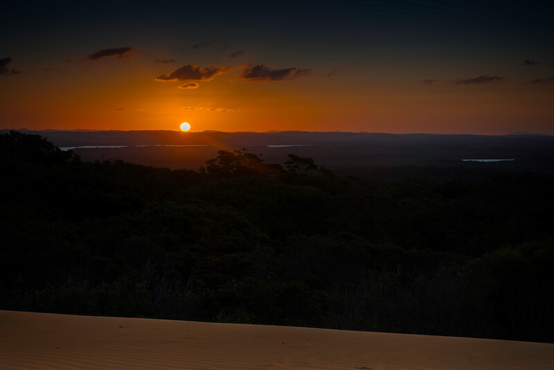 Carlo Sandblow Sunset