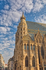 St Stephan's Cathedral Vienna,  Austria-2