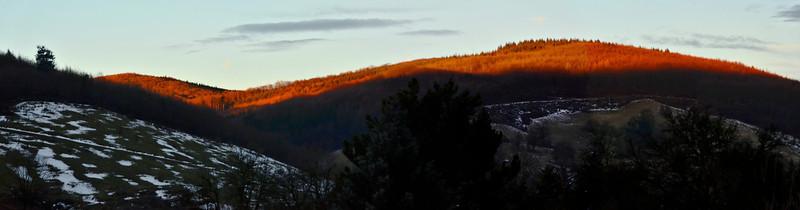 Sunrise, Wienerwald, Austria