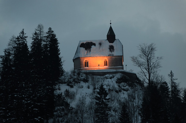 Mountain church, Rasing, Mariazell, Austria