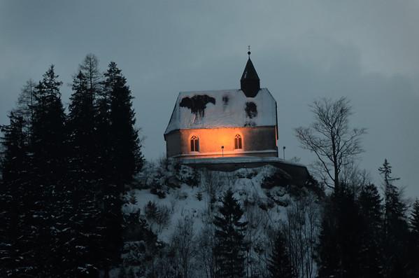 Mountain church, Rasing, Mariazell, Austria
