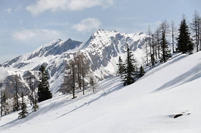 View from Aschlreitalm, Niedere Tauern, Austria