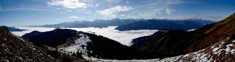 Niedere Tauern from Hinkareck, Eisenerzer Alpen