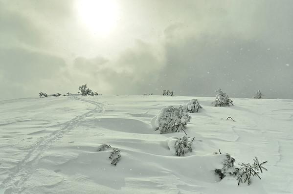 Still snowing, Kreuzbühel